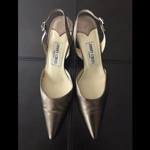 Jimmy Choo London Slingback Heel, Size 6.5